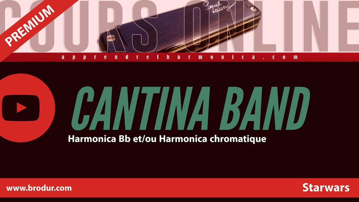 Theme ''Cantina Band'' - Starwars Episode IV - Harmonica Bb ou harmonica chromatique