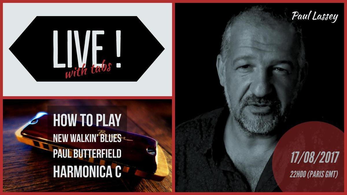 Paul Butterfield - New Walkin' Blues - Harmonica C