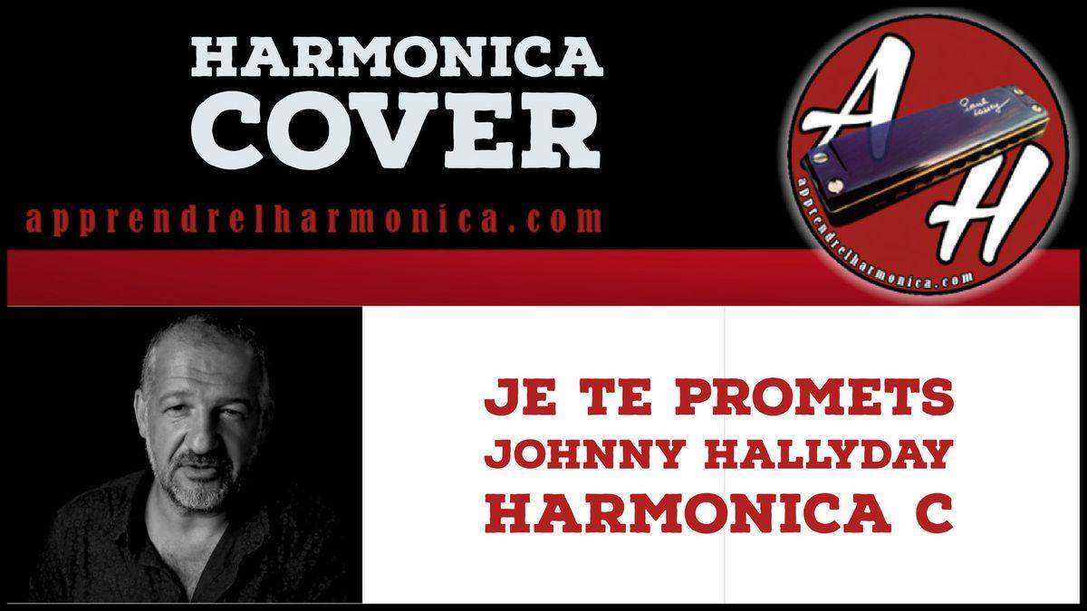 Je te promets - J-J.Goldman - Johnny Hallyday - Harmonica C
