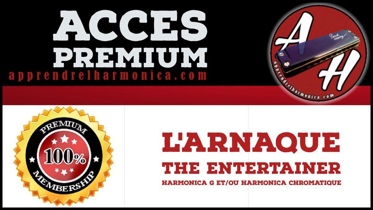 L'arnaque - The Entertainer - Harmonica G et/ou Harmonica chromatique