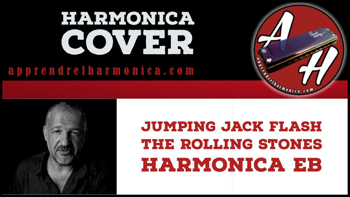 The Rolling Stones - Jumping Jack Flash - Harmonica Eb