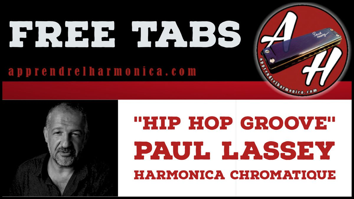 Hip Hop Groove - Harmonica chromatique - Paul Lassey