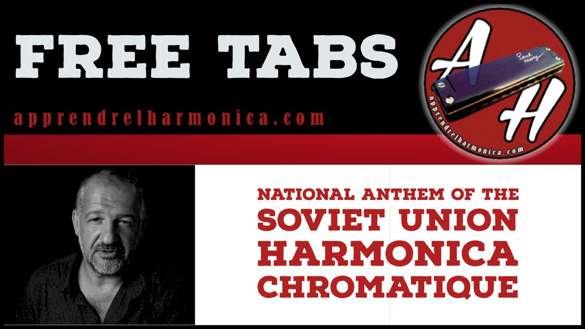 National Anthem of the Soviet Union - Harmonica chromatique