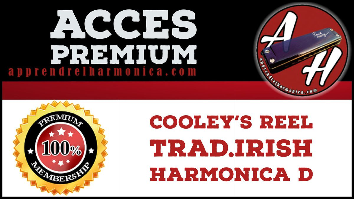 Colley's Reel - Trad.Irish - Harmonica D