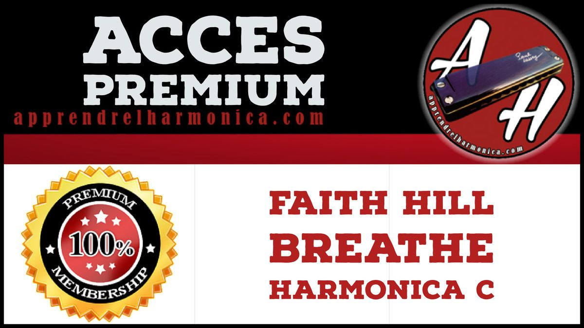 Faith Hill - Breathe - Harmonica C