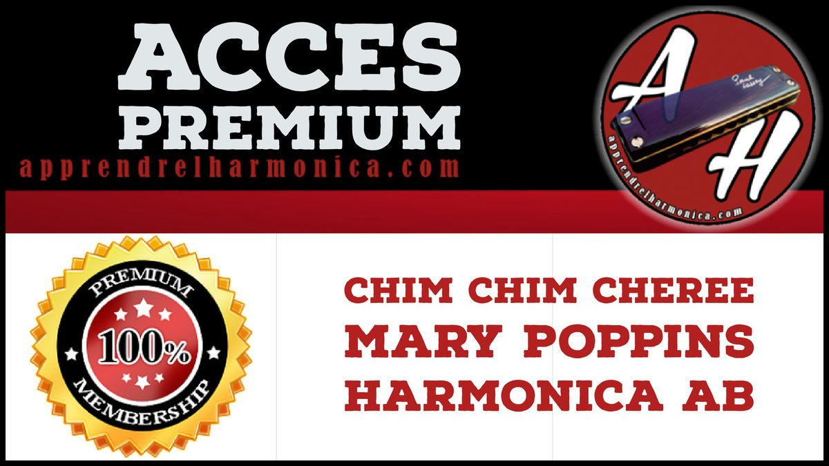 Chim Chim Cheree - Mary Poppins - Harmonica Ab