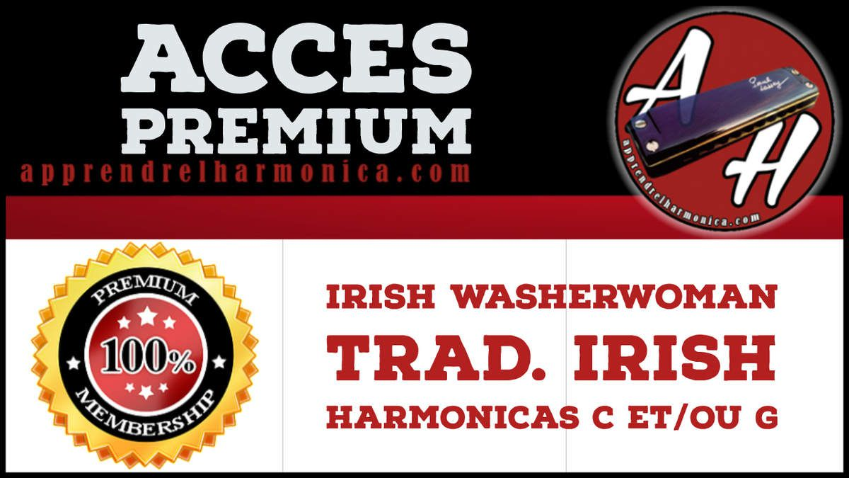 Irish Washerwoman - Trad. irish - Harmonicas C ou G