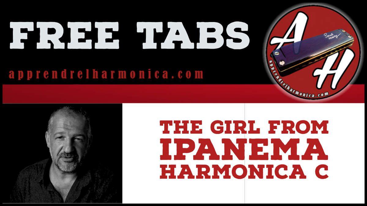 The girl from Ipanema - Harmonica C