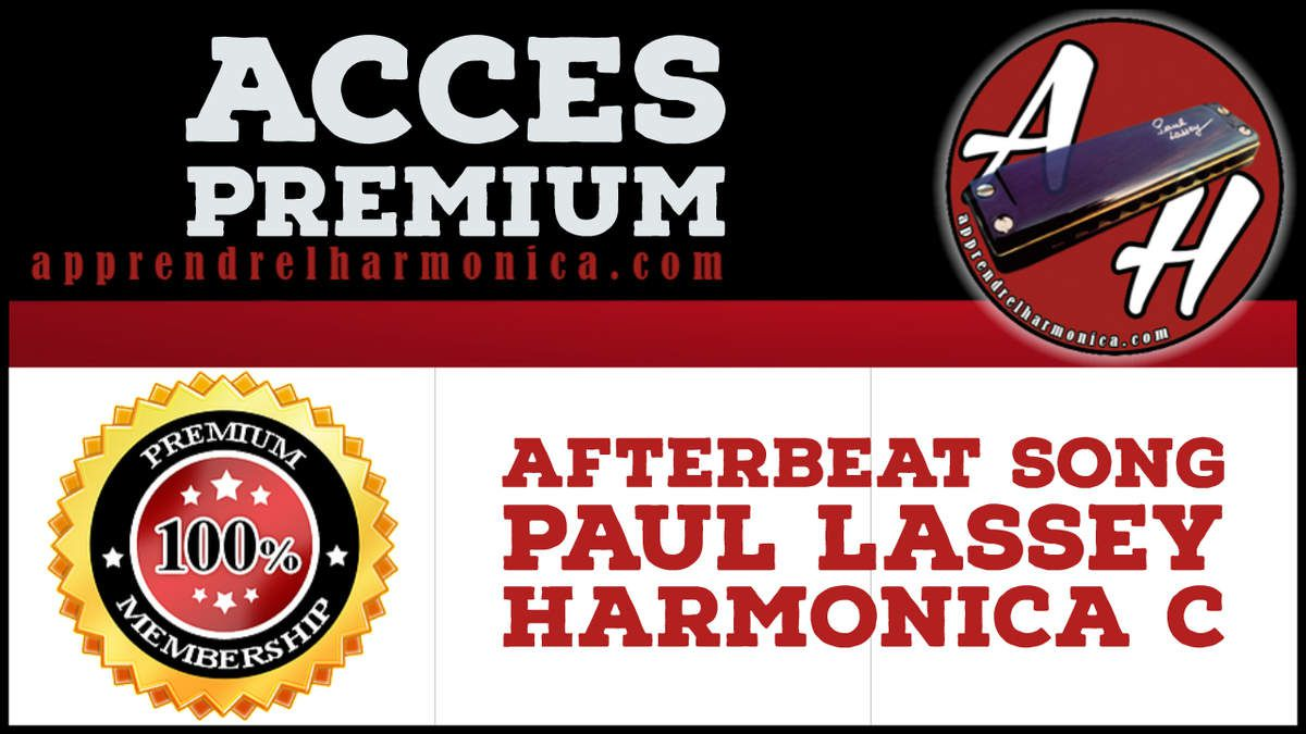 Afterbeat Song - Harmonica C - Paul Lassey