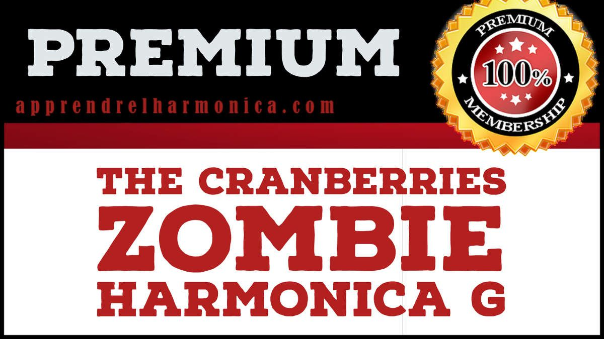 The Cranberries - Zombie - Harmonica G