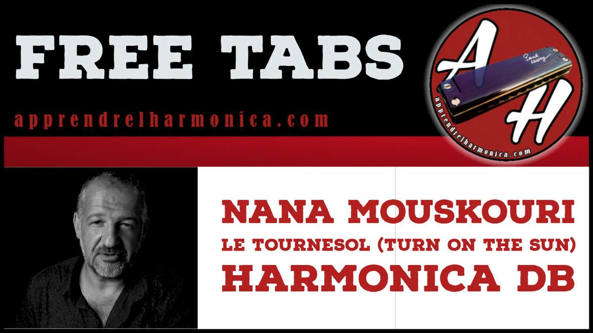 Nana Mouskouri: Le tournesol (Turn on the sun) - Harmonica Db