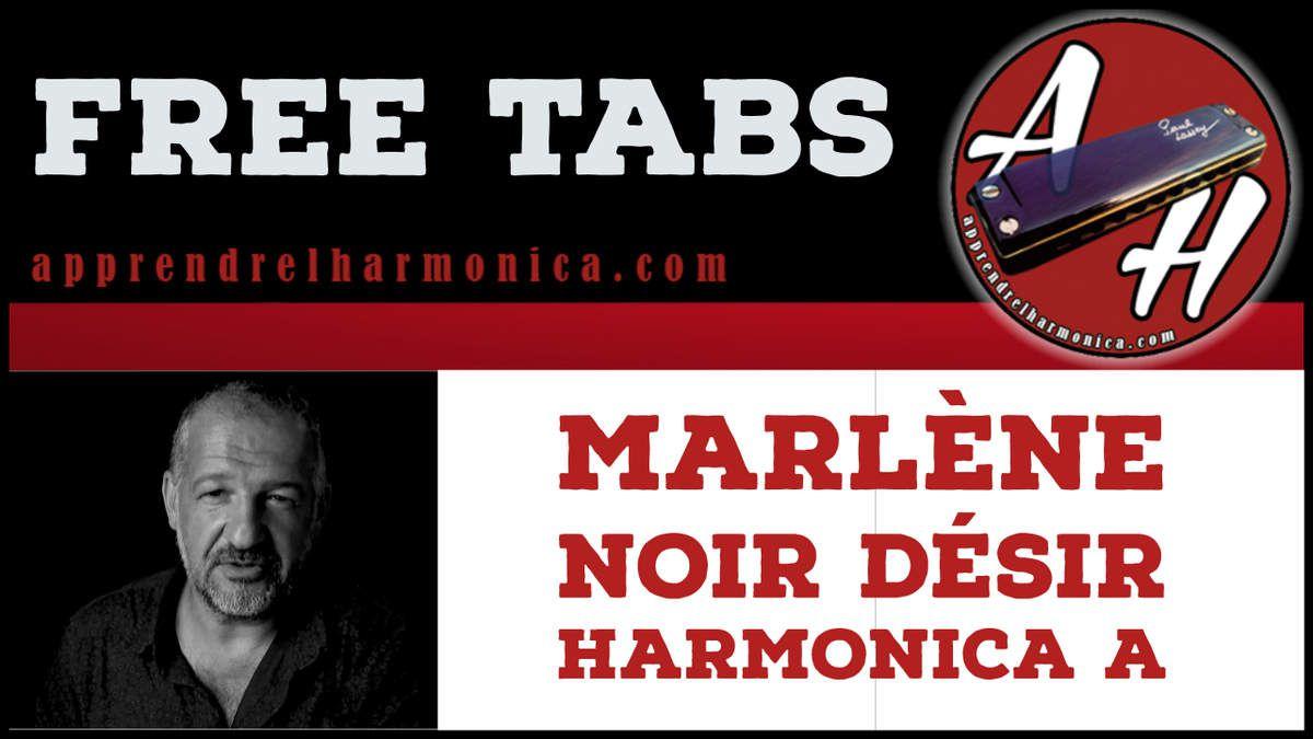 Marlène - Noir Désir - Harmonica A