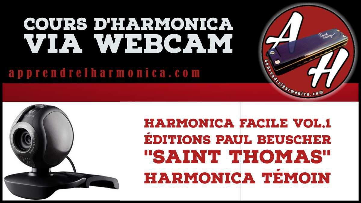 Saint-Thomas - Harmonica C - Harmonica Témoin