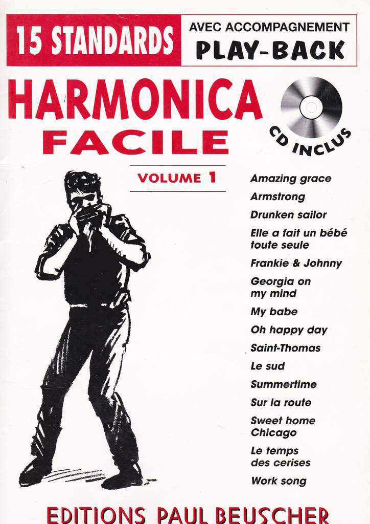 15 standards - Harmonica facile - Paul Beusher (2002) - Harmonica témoin