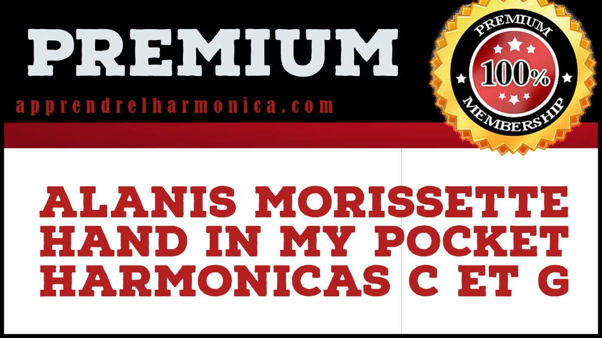 Alanis Morissette – Hand in my pocket – Harmonicas C et G