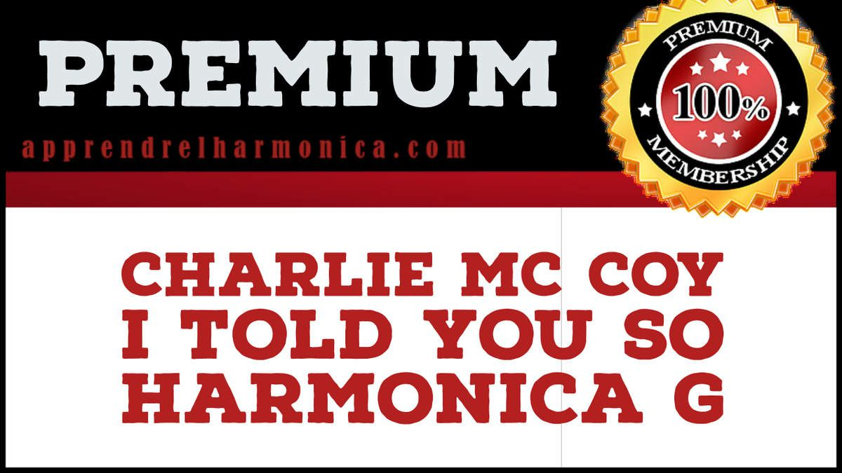 Charlie Mc Coy - I Told You So – Harmonica G