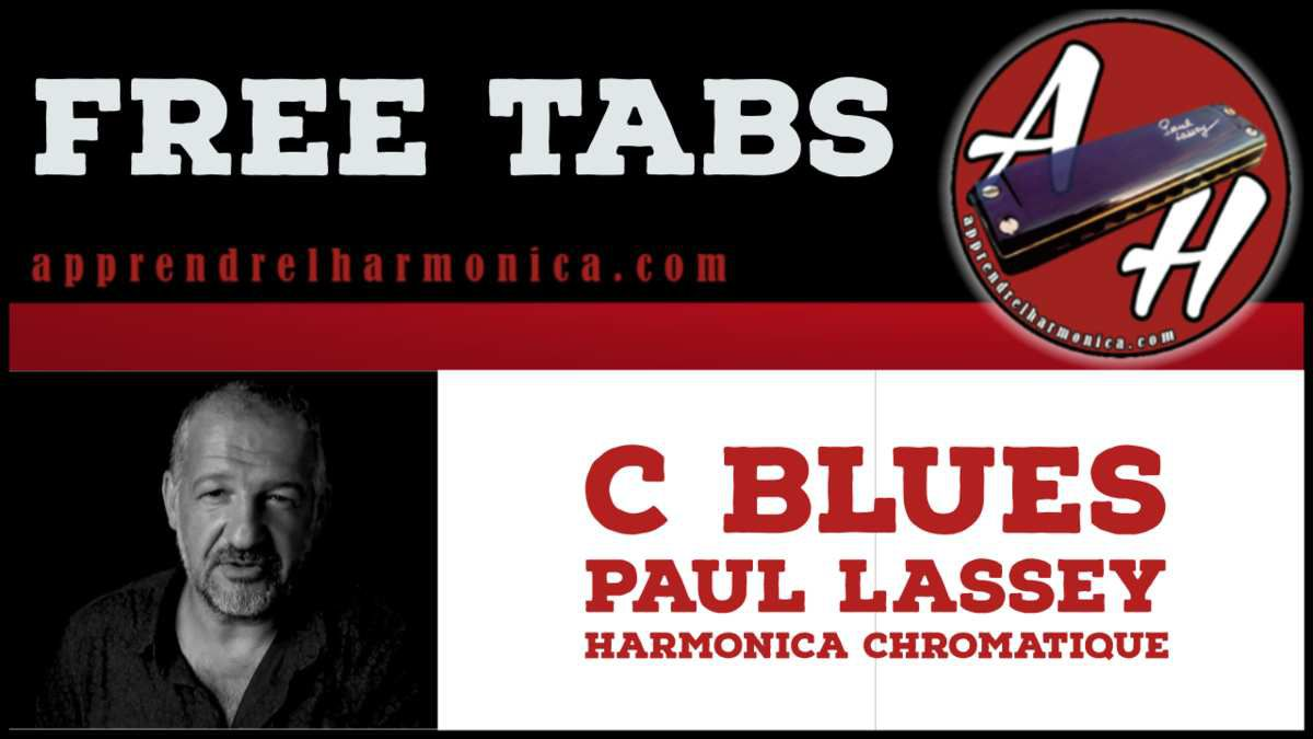 C Blues - Harmonica chromatique