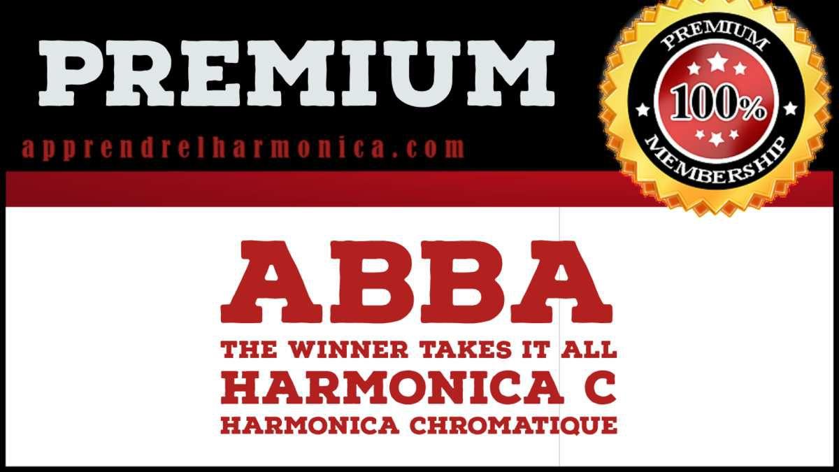 Abba - The Winner Takes It All - Harmonica C et Harmonica chromatique