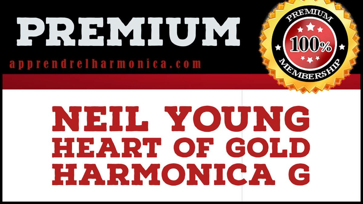 Neil Young - Heart of Gold (live) - Harmonica G