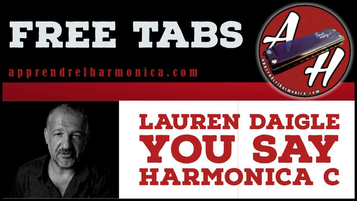 Lauren Daigle - You say - Harmonica C