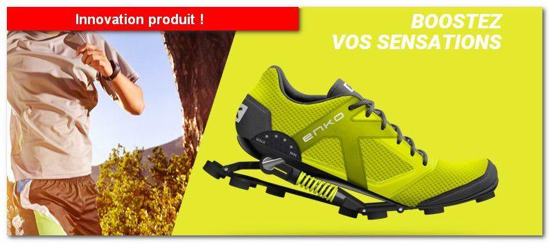 Innovation produit : ENKO, la chaussure qui offre un amorti unique