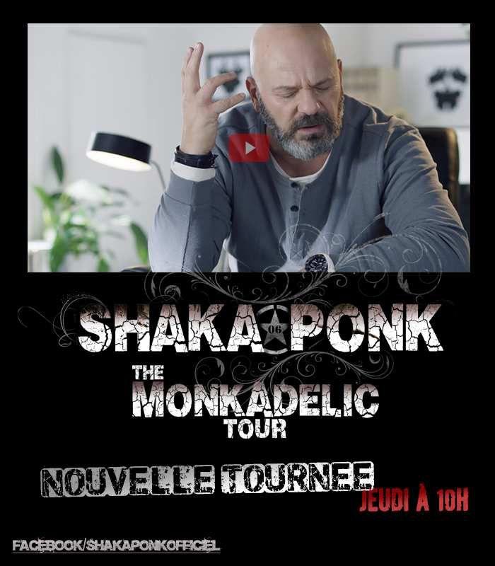 Buzz : SHAKA PONK est de retour avec le MONKADELIC TOUR
