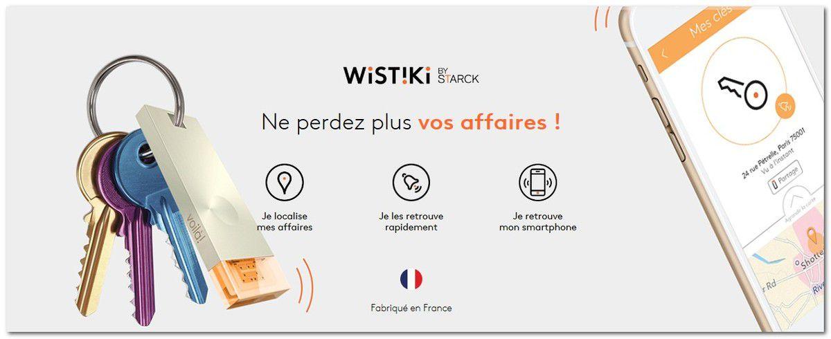 Startup : WISTIKI, un design par Philippe Starck et une techno IoT