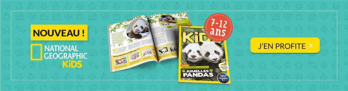 Média : Nouveau magazine National Geographic Kids