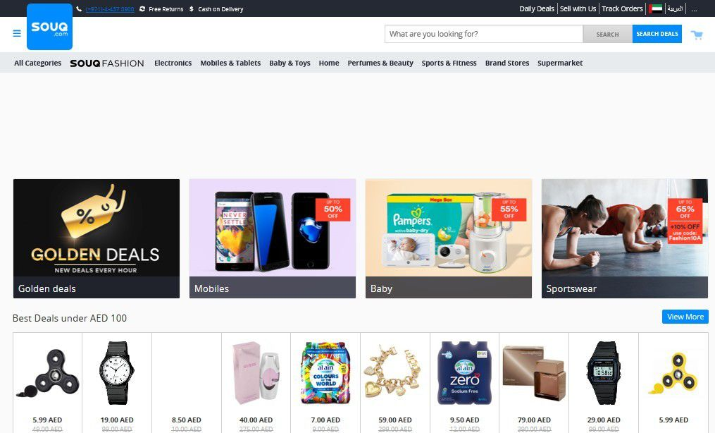 Web / Ecommerce : Amazon rachète souq.com
