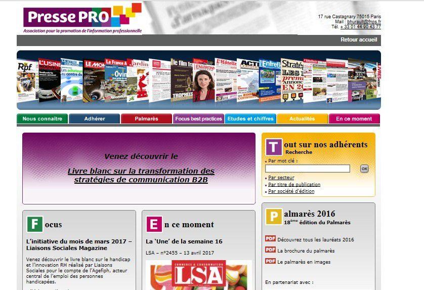 Média : Presse pro, l'association qui rassemble 200 marques