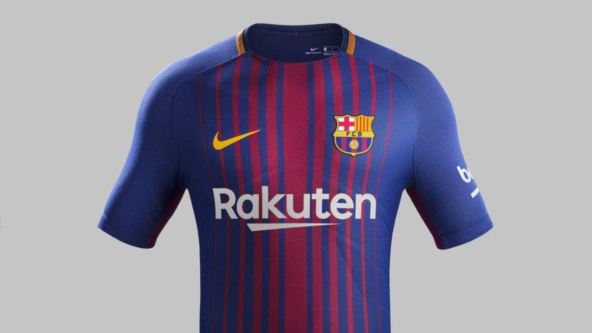Sponsoring :  Rakuten, nouveau sponsor maillot pour le FC Barcelone 2017-2018
