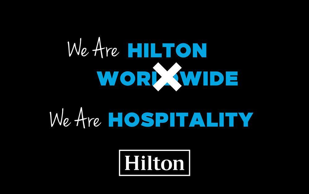 Branding : Changement d'identité visuelle des hotels HILTON pour la 25ème fois