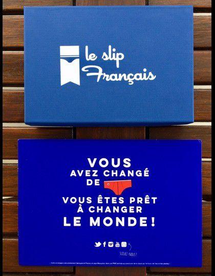 Packaging : C'est la fête du slip (français)