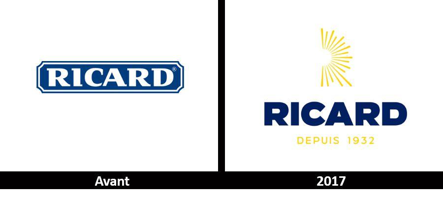 Branding : Changement de logo pour la marque RICARD