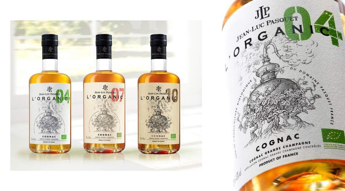 Packaging : Une étiquette qui a du style pour le Cognac Jean-Luc Pasquet