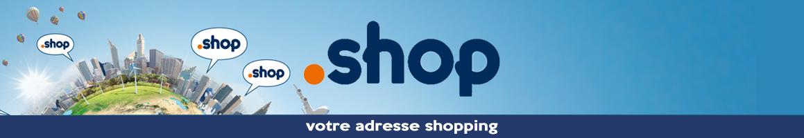 Web : Enregistrez votre .shop pour seulement 3 eurosHT