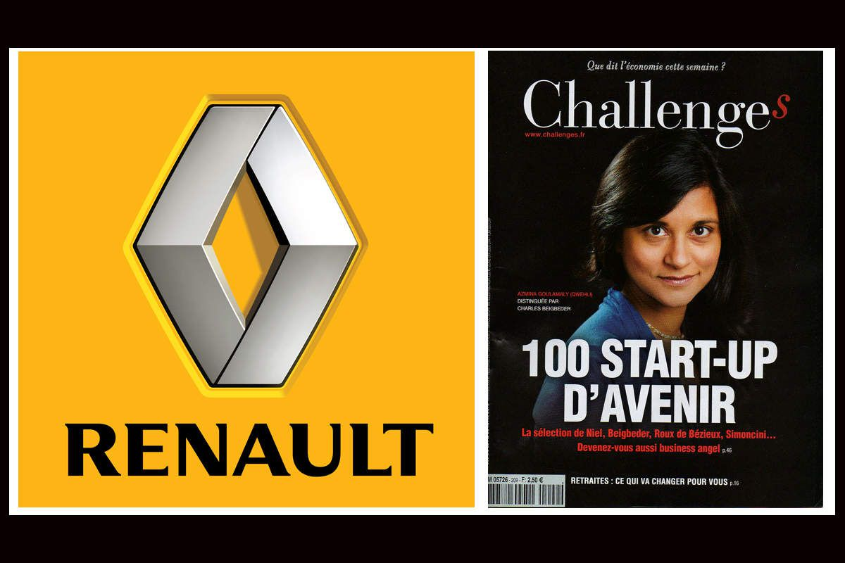 Media : RENAULT prend 40 % du Capital du magazine Challenges