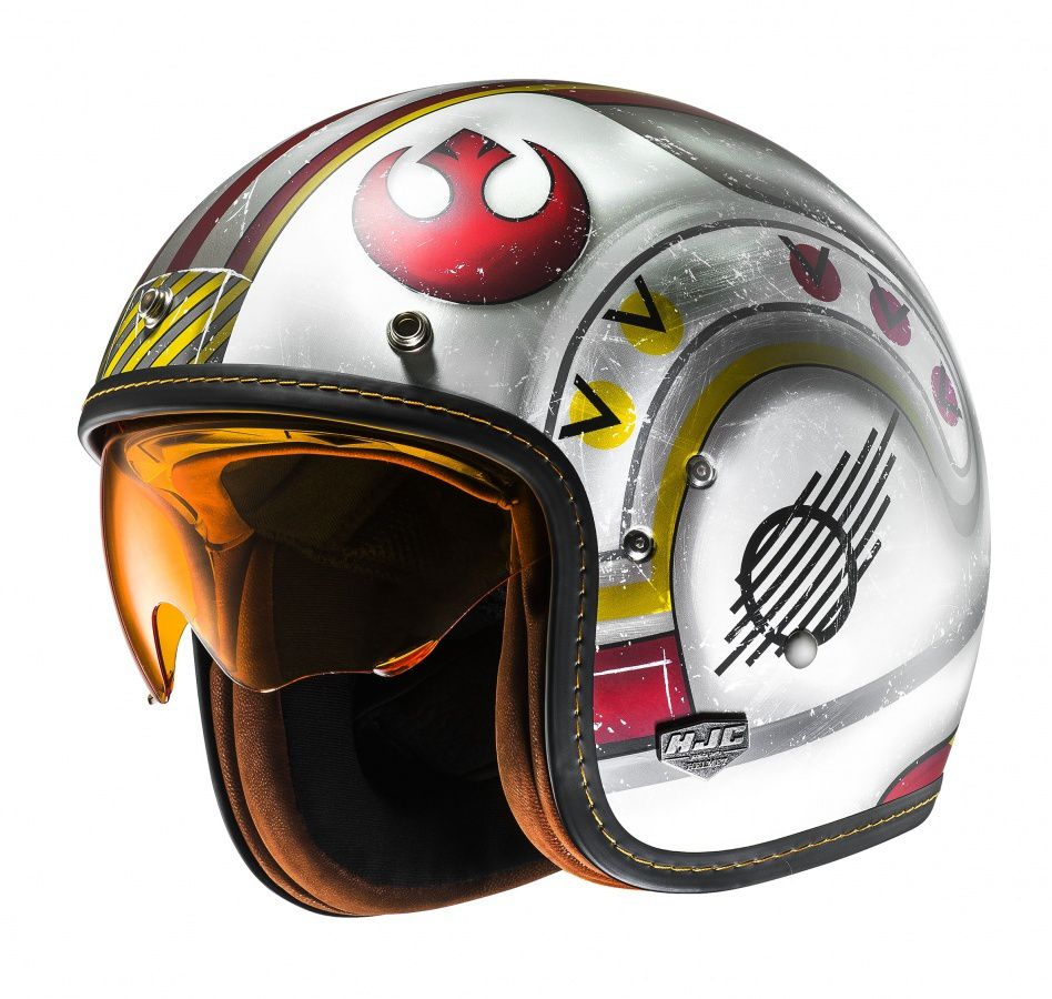 Innovation produit : Casque jet HJC FG-70's Replica Luke Skywalker