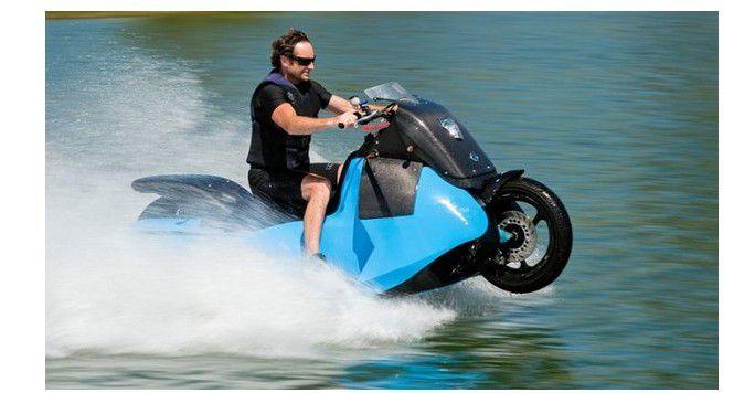 Innovation produit : BISKI, la moto qui se transforme en Jet Ski