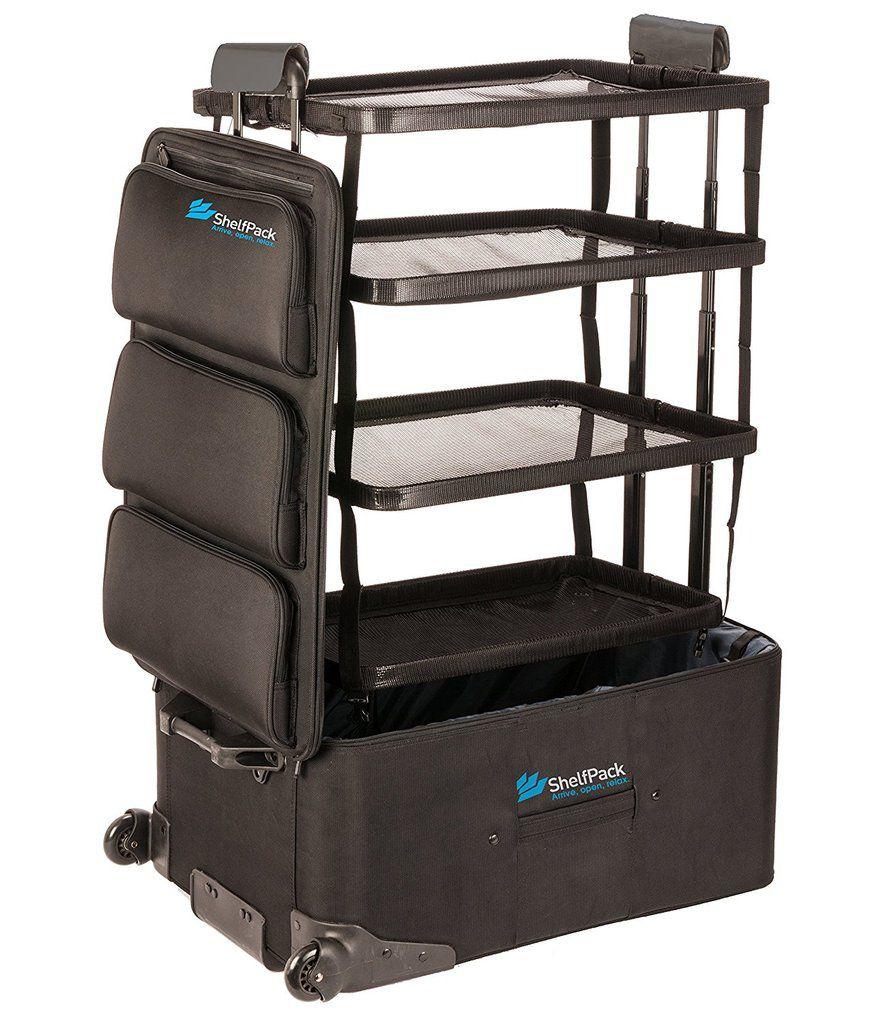 Innovation produit : SHELFPACK, la valise dressing très astucieuse pour les voyageurs