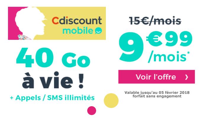 Carte Cdiscount Mobile.Operateur Mobile Cdiscount Mobile Prolonge Son Offre De