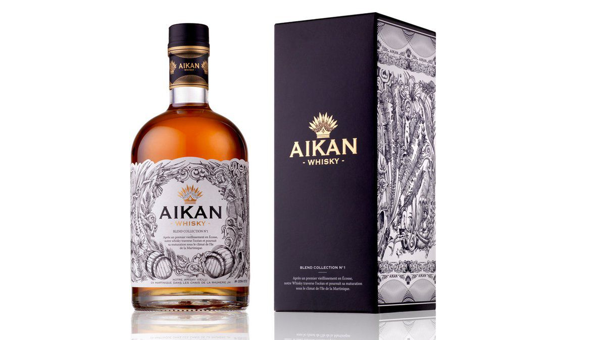 Packaging : WHISKY AIKAN, authentique et design