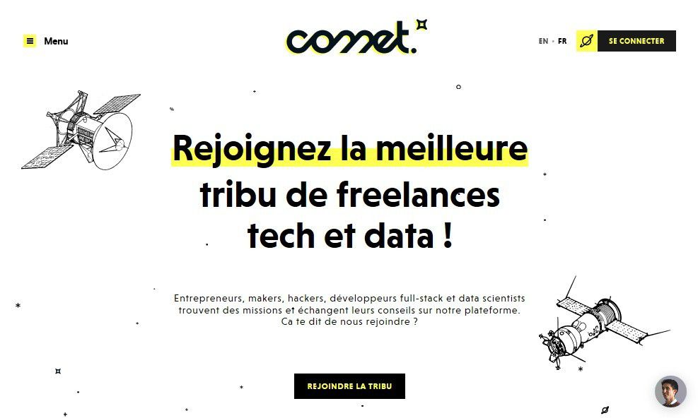 Start-up : Comet, la plateforme pour les freelances de l'IT