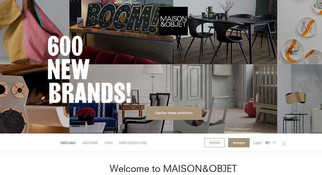 Marketing Event : Salon Maison & Objet, le Top du design et du marketing en 2019