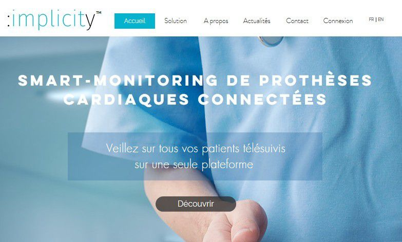 Start-up : Implicity lève 4 Millions d'euros