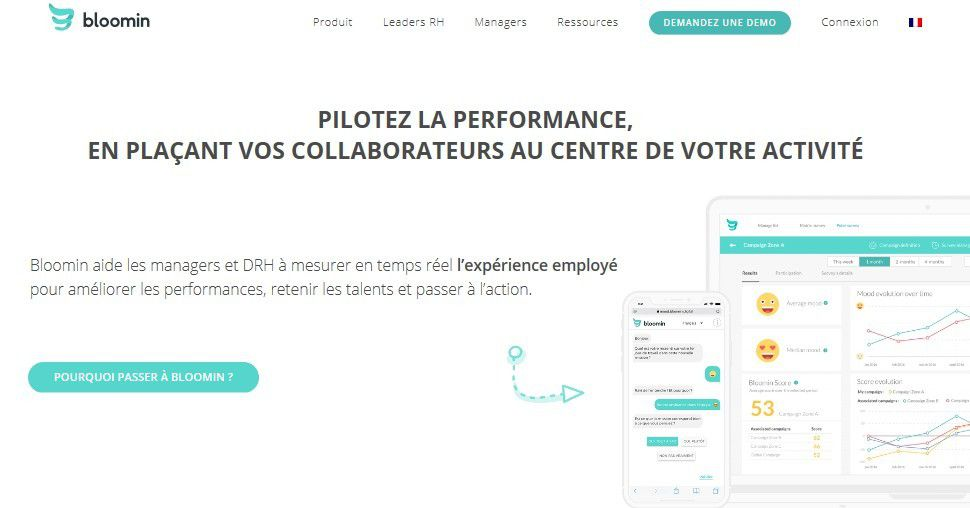 Start-up : le site RH, Bloomin lève 2 millions