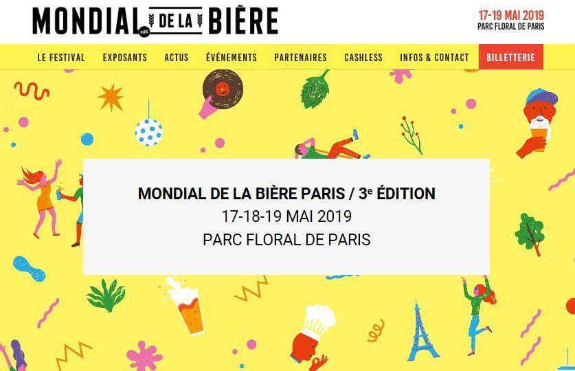 Event : le Mondial de la Bière à Paris, c'est demain !