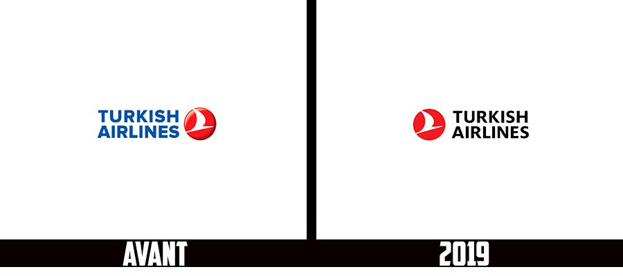 Branding : Turkish airlines change de logo et passe au noir