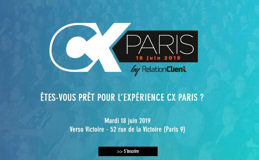 Marketing Event : CX Paris, le 18 juin 2019