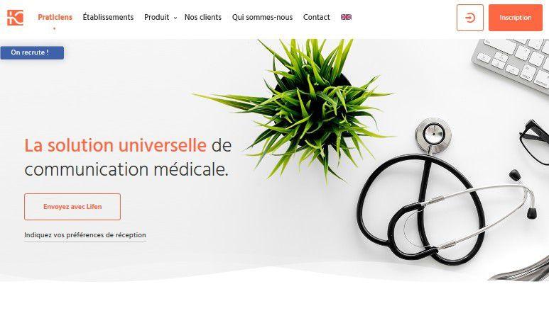 Start-up : la start-up française Lifen lève 20 millions